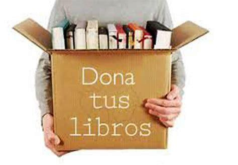 Campaña de donación de libros para la Feria del Libro